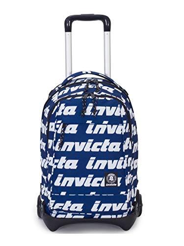 Trolley Jack Plòug Pl.Tr.Lettering Invicta Logo Blu