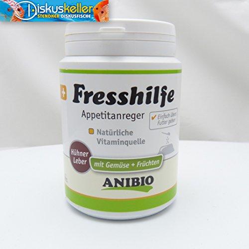 Anibio Fresshilfe/Appetitanreger 120g für Hunde und Katzen, Ideal zur Appetitanregung bei mäkeligen und schlechten Fressern - rein biologisch
