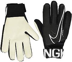 NIKE Nk Gk Match Jr-Fa19 Guantes de Fútbol, Unisex Niños, Negro (Black/(White), 5