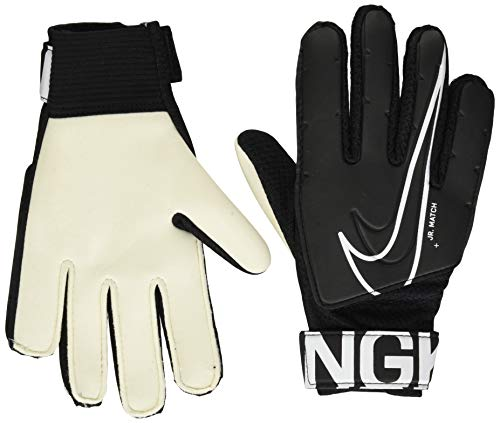 Nike Unisex-Child Nk Gk Match Jr-fa19 Glove Liners, Black/White, 6