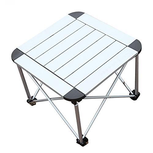 XuCesfs Klappbarer Picknicktisch mit Lattenrost, leicht, Aluminium, tragbar