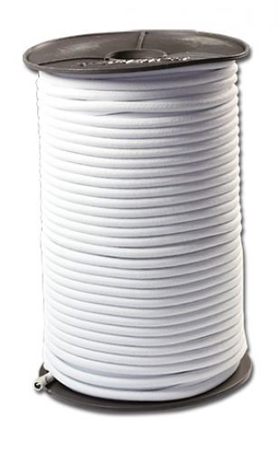 8mm Expanderseil 50m schwarz Gummiseil elastisches Seil f Plane elastic cord