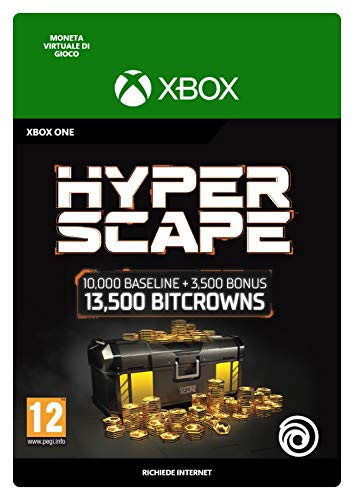 Hyper Scape Virtual Currency 13500 Bitcrowns Pack | Xbox One - Codice download