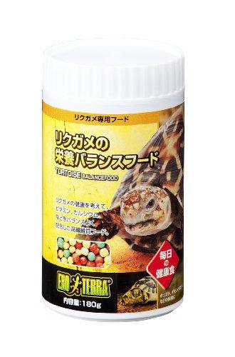 ジェックスエキゾテラ『リクガメの栄養バランスフード』