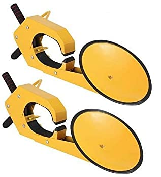 Mophorn 2pcs Wheel Lock Clamp Boot Tire Claw Heavy-duty Anti Theft Parking Boot Car Tire Claw Parking Boot Lock  2 pc