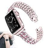 WJMT Correa De Reloj Apple Compatible 38 Mm 40 Mm 42 Mm 44 Mm...