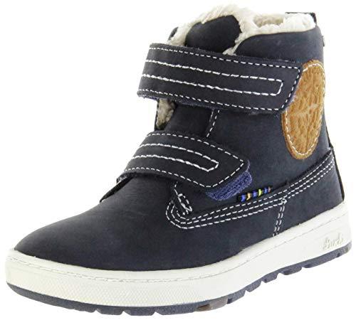 Lurchi Jungen Diego-TEX Chukka Boots, Blau (Atlantic 22), 24 EU