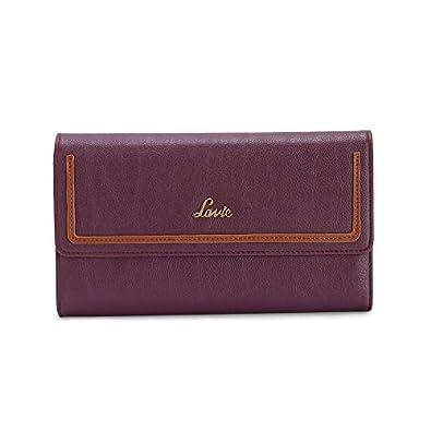 Lavie Naima Passport Holder Tri Fold 1 Women's Wallet(Purple)