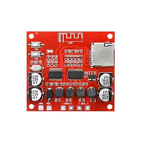 NIZYH 15W X 2 Bluetooth 4.2 Tablero Amplificador de Potencia Digital Estéreo Tarjeta TF Juego 12v ~ 24v Audio Amp