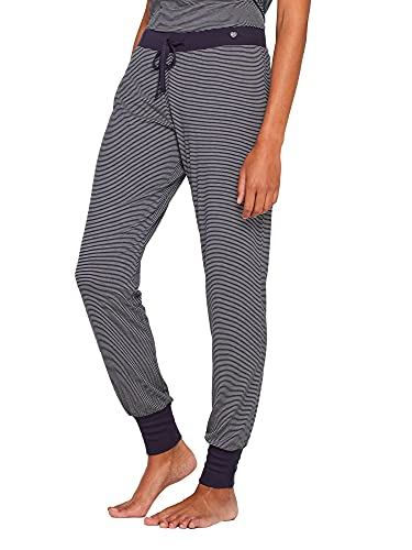 ESPRIT Navy Mix+Match Jersey-Pants