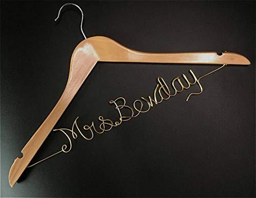 cailla Cadeau voor Bruid Custom Hanger Bruidsmeisje Jurk Hanger Gepersonaliseerde Bruids Hanger Cadeau voor Moeder van de Bruid Bachelorette Party