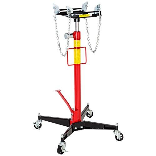 TecTake Sollevatore idraulico a motore cambio auto carrello portata (max.): 500 kg | qualità robusta! peso: 38 kg