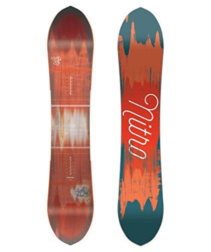 Nitro Snowboards Sweet Leaf Tablas Snowboard, Mujer, Multicolor, 146