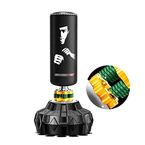 fdxcft Boxsäcke Boxing Boxsack Fitnessgeräte Sanda Vertikal hängend Boxsack Tumbler Fitness Boxsack Kinder Taekwondo Boxen Trainingsgeräte,Schwarz,50 * 170cm