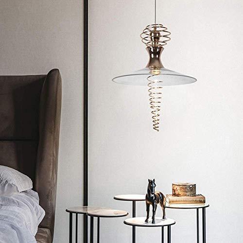 Hanglamp armaturen moderne creatieve lente goud kroonluchter woonkamer eetkamer slaapkamer nachtkastje bar gang tafel led glas plafond lamp 40x40x50cm