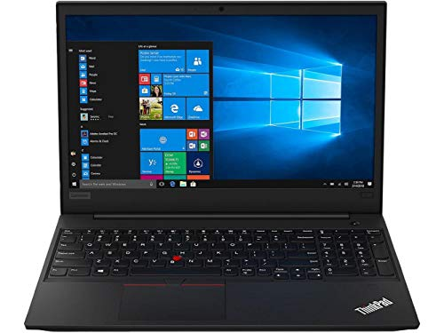 Lenovo ThinkPad E590 Home and Business Laptop (Intel i5-8265U 4-Core, 64GB RAM, 128GB m.2 SATA SSD + 1TB HDD, Intel UHD 620, 15.6' HD (1366x768), WiFi, Bluetooth, Webcam, Win 10 Pro) (Renewed)