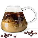 Erlenmeyer Flask Mug - Beaker Coffee Mug with Measurements - Borosilicate Thick Durable Glass 16.9oz (500mL) Capacity - Great Gift for anyone who loves Science & Chemistry
