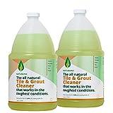 Tile Grout Cleaner - Rejuvenate Kitchen Floor, Bathroom Floors, Tiles - Heavy Duty Cleaner(1 GALLON, 2 PACK)