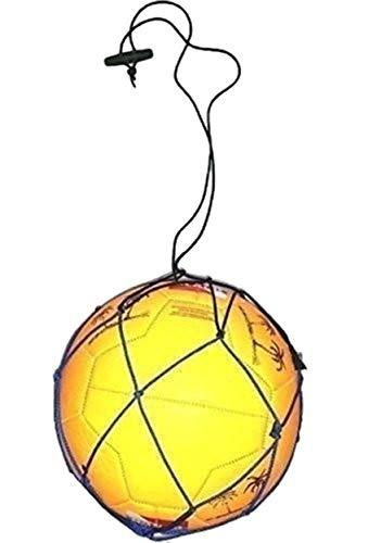 2 Soccer Ball Bungee Elastic Training Juggling Net...
