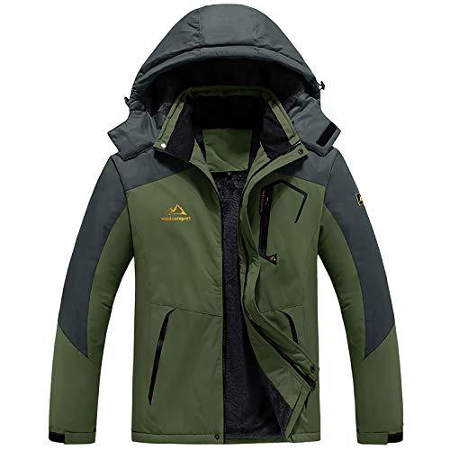 登山服 メンズ アウター パーカー コンバット タクティカル ジャケット 釣り 登山服 グリーン CN 6XL=日本サイズ3XL