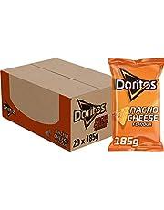 Doritos Tortilla Chips Nacho Cheese, Doos 20 stuks x 185 g