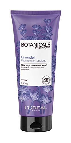 Botanicals Spülung, ohne Silikon für empfindliches Haar, mit Lavendel, spendet Feuchtigkeit und entwirrt, 1er Pack (1 x 200 ml)