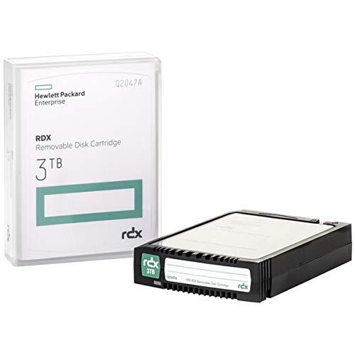 HPE RDX 3TB Cartucho de Disco extraíble