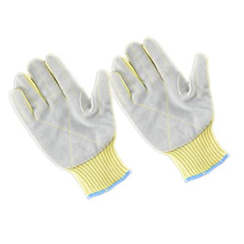 EXCEART 1 Paar Schutzhandschuhe Schnittschutzhandschuhe Schnittfeste Medizinische Handschuhe Sicherheitshandschuhe Arbeitshandschuhe für Herren Damen Arzt Arbeit Labor Zuhause