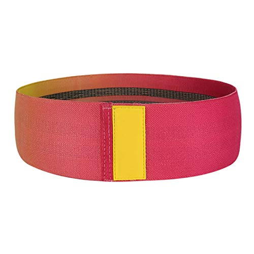 HUANGDANSEN Exercise Band Hip Belt Loop Squat Belt Fitness Training Pull Yoga Training Pull Rope Resistance Bands|3Pcs