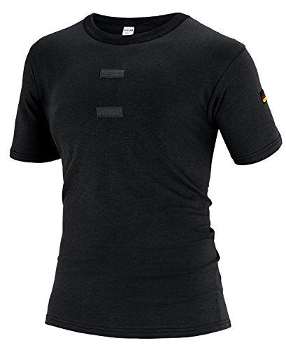 Black Snake Tropen T-Shirt nach TL, Auswahl Schwarz mit Klett XXL