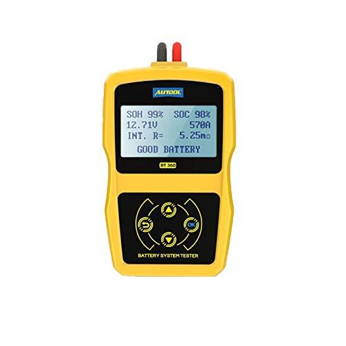Probador de batería de 12V Automático Diagnóstico Diagnóstico Diagnóstico Diagnóstico Diagnóstico Diagnóstico Diagnóstico Diagnóstico de la batería de vehículos Escáner de carga Scanner Herramienta Si