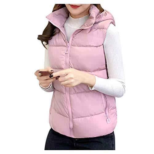 Dames Vest Jas Winter Hooded Vrouwen Down Vest Vrouwelijke Coltrui Korte Mouwloze Vesten Jas Warm Down Jacket Vest