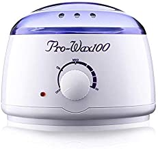 T TOPLINE Pro Wax 100 Warmer, Warmer Hot Wax Heater for Hard, Strip and Paraffin Waxing, Wax Machine For Women, Wax Automatic Waxing Kit Temperature Regulator