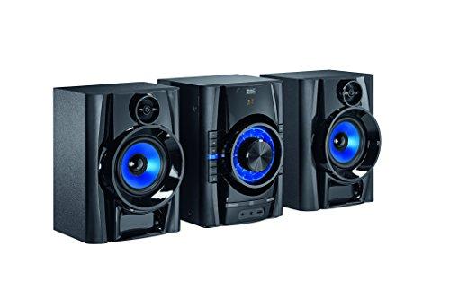 Mac Audio Mps 501 | DAB+ Kompaktanlage | 200 Watt High-Power HiFi-System mit DAB+, Bluetooth, USB, CD, Aux, RDS - Schwarz