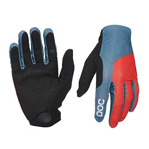 POC Herren Essential Mesh Glove, Cubane Blue/Prismane Red, MED