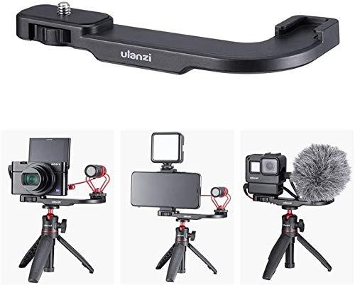 Ulanzi PT-9 マイクマウント カメラのビデオマイクシュー SONY RX100 VII M1-M6 Canon G7X Mark III 対応 VLOGブラケット