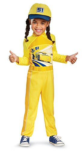 Cars 3 Cruz Classic Toddler Costume, Yellow, Large (4-6X)