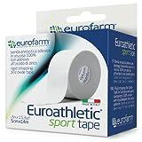 EUROATHLETIC SPORT TAPE (mt 10 x cm 3,8)- Cerotto sportivo adesivo in viscosa ideale per b...