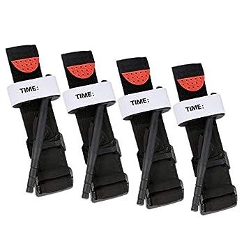 Beada Tourniquet de 4 PièCes de Tourniquet de Chat Tourniquet de Boucle d'urgence Tourniquet de Secours ExtéRieur