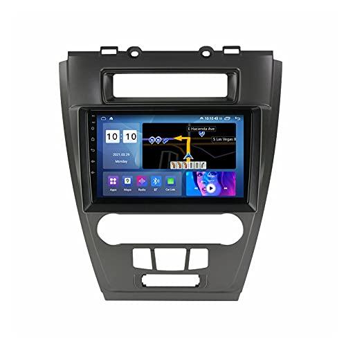 ADMLZQQ Pantalla Táctil Completa De 9 Pulgadas Navegación Multimedia para Ford Fusion 2010 Android 10 Navegación GPS De Radio De Coche con SWC/Carplay/Dsp/Bluetooth,M600s8core6+128