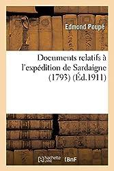 Documents relatifs à l'expédition de Sardaigne 1793
