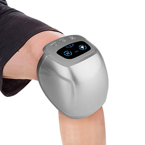 Knee Massager,Infrared Magnetic Vibrating Therapy Electric Knee Shoulder Elbow Physiotherapy Machine Rechargeable Joint Pain Relief for Osteoarthritis Rheumatoid Arthritis