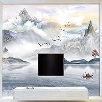防水/防汚カスタム3D写真壁紙テレビ背景壁画レストランカフェクラブKtvバー3D写真の壁紙-アートインク風景大理石の壁画の壁紙