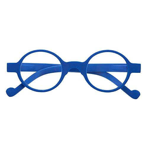 DIDINSKY Gafas de Presbicia con Filtro Anti Luz Azul para Ordenador. Gafas Graduadas de Lectura para Hombre y Mujer. Tacto Goma y Cristales Anti-reflejantes. 8 colores y 5 graduaciones – HAKON