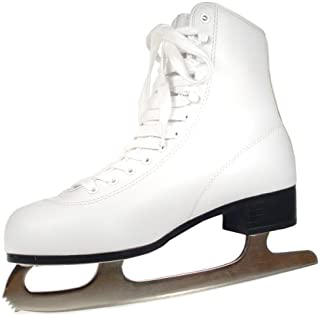 american athletic ladies white figure skates
