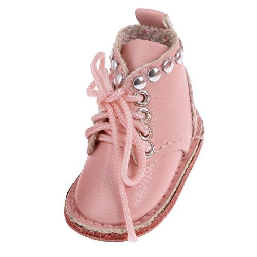 Fenteer Mode Schnüren Puppen Stiefel Schuhe Für 12 Zoll Blythe Puppe Kleidung Zubehör