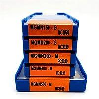 超硬インサート 炭化タングステン切削工具MGMN200 MGMN300 MGMN400 MGMN500 NC3020 / 3030 / PC9030スロットカッティングカーバイドブレード旋盤ツール (Angle : MGMN300 M NC3030)