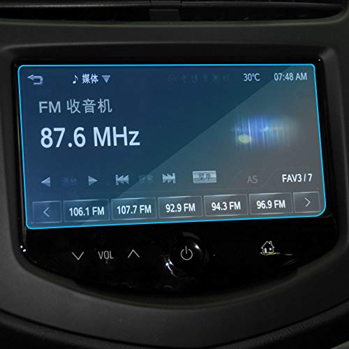 LUVCARPB Protecteur d'écran de Navigation de Voiture, adapté pour Chevrolet Trax 2014-2017, Protection d'écran en Verre trempé 9H