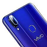 WURONGCHAO - Protector de pantalla de cristal templado para objetivo de cámara trasera de fibra flexible para teléfono Vivo Z3