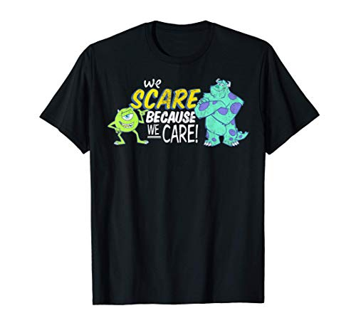Disney Monsters Inc. Scare We Care Graphic T-Shirt T-Shirt
